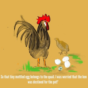 2013-10-11 - Gerda - Mottled Quail Egg