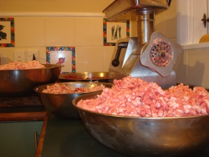 2014-11-05 - Sausage Making 1